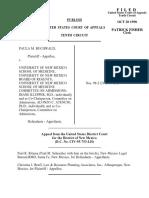 Buchwald v. Univ. of NM School, 159 F.3d 487, 10th Cir. (1998)
