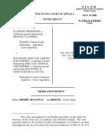 Flannery Properties v. Byrne, 10th Cir. (2000)