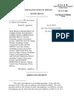 Ferguson v. NM Dep't Corrections, 10th Cir. (2001)