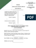 Wark v. United States, 269 F.3d 1185, 10th Cir. (2001)