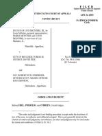 Estate of Luis McInt v. City of Boulder, 10th Cir. (2003)