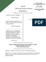 United States v. Esparza-Mendoza, 386 F.3d 953, 10th Cir. (2004)