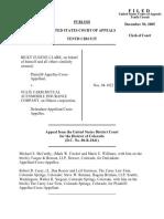 Clark v. State Farm Mutual, 433 F.3d 703, 10th Cir. (2005)