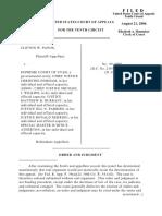 Panos v. Supreme Court of UT, 10th Cir. (2006)