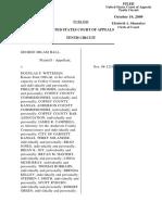 Hall v. Witteman, 584 F.3d 859, 10th Cir. (2009)