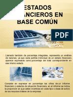 Estados Financieros en Base Común