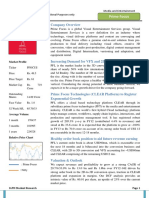 Equity Research Prime Focus
