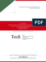 Estrategias de Políticas Públicas Para El Desarrollo Sustentable, Una Visión Crítica