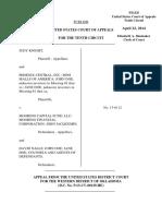Knight v. Mooring Capital Fund, 10th Cir. (2014)