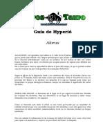 Alorus - Guia De Hyperion.doc