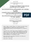 United States of America and William F. Conlon, Revenue Agent Internal Revenue Service v. Balanced Financial Management, Inc. And Kelley W. Crider, United States of America and William F. Conlon, Revenue Agent, Internal Revenue Service v. Balanced Financial Management, Inc. And Kelley W. Crider, 769 F.2d 1440, 10th Cir. (1985)