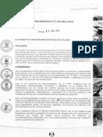 Ordenanza N°017-2016-MPC