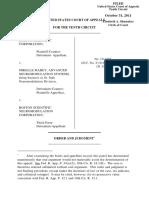 Boston Scientific Corporation v. Mabey, 10th Cir. (2011)