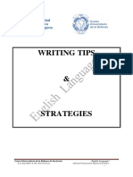 Writing Tips & Strategies