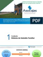 """""""Gestión de Vivienda Social en Colombia Cajas de Compensación Familiar"""""""