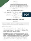 Robert Layton v. City of Pauls Valley Rick Wickencamp, in His Individual and Official Capacity, 107 F.3d 21, 10th Cir. (1997)