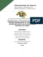 Identificación y prevención de riesgos y aspectos ambientales