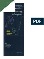 Fundamentos de química analítica. Equilibrio iónico y análisis químico.