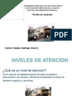 MINSA Niveles de Atención en Salud Navarro Tejada Santiago