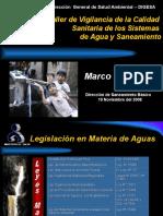 P7-Normativa - Agua y Saneamiento