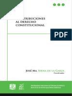 Contribuciones Al Derecho Constitucional