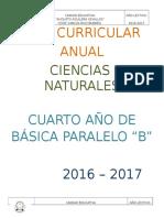 4.Plan Curricular Anual Ciencias Naturales