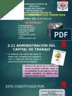 2.11 Al 2.15 Administracion Financiera