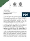 Letter to City Planning Chairman Regarding Two Bridges Neighborhood Development