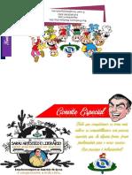 Modelo de Convite de Sarau de Maurício 2016