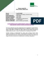 Actualización de Leyes y Decretos de Enero Febrero y Marzo 2016