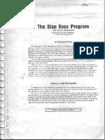 Slap Bass Program - Alexis Sklarevski.pdf