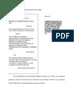 BHA Pier 6 Lawsuit