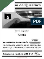 Prova Prof II Artes - Gab - A.pdf