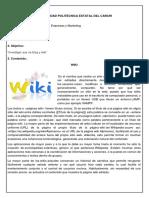 Wiki -Blog Info