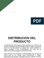 Distribucion de Producto