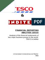 Finance Reprt Tesco&Inditex. Alejandra Cabrera.