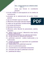 Legislación Examen Final Oral 2016-1