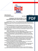 Lawrence, McClellan Win 27th Annual Baytown Bud Heat Wave; Final Race Announced