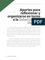 Revista Docencia Aportes Reflexionar Organizarse Salud Laboral