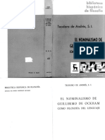Teodoro De Andres - El nominalismo de Okham.pdf