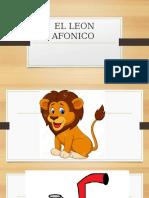 El Leon Afonico Cuento