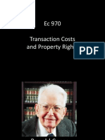 Ec 970 - Transaction Costs