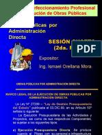 Taller Huancavelica - SESION - 04 - A Obras Por Adm Directa