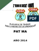 Plan Anual 2014 Humaya Final
