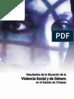 Violencia de Género en Chiapas