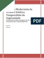 Estética Modernista da ironia - pessoa e negreiros.pdf