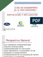 Evaluacion Desempeno Ambiental e Indicadores