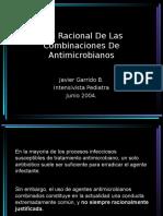 Combinaciones de antimicrobianos.pps