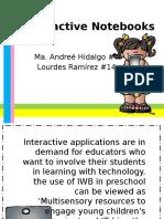 interactive notebooks  1