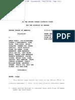No Delay Bundy Trial Order